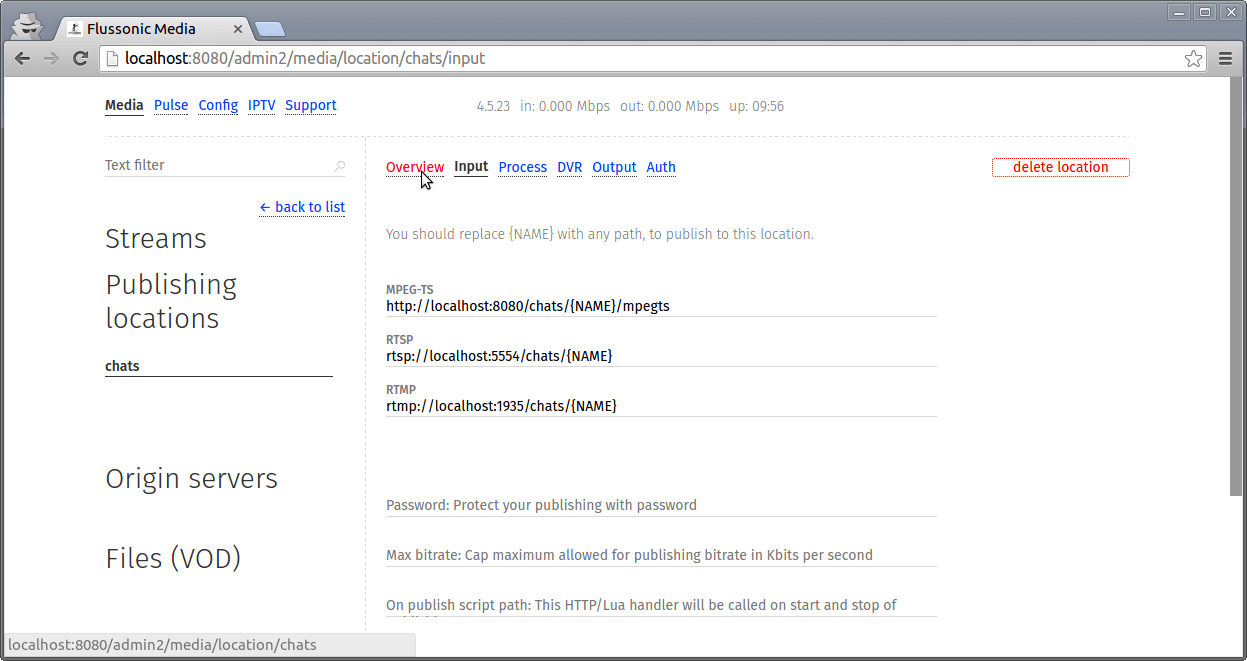 AlphaOTT integration with Flussonic